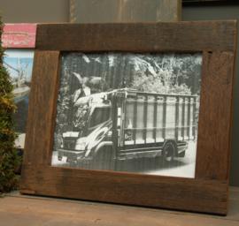 Fotolijst 35x30cm bruin