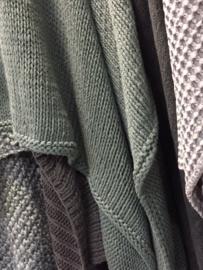 Plaid Roma 130x170cm Sedona grijs/groen