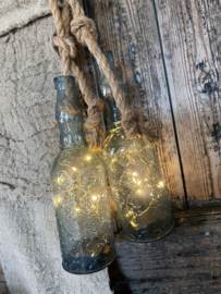 Hanglamp fles led Anja Blue