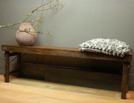 Bankje Folding bench long 160x35x47cm