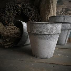Zinken pot 15cm drsn / 14cm H