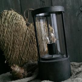 Tafellamp Duston antiek zwart/grijs