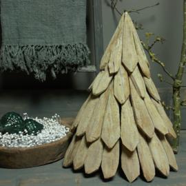 Kerstboom van kastanjehout