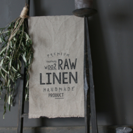 Raw linen RAW 70x35cm