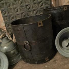 Oude ijzeren pot