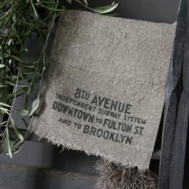 Shabby doek avenue 30x45cm