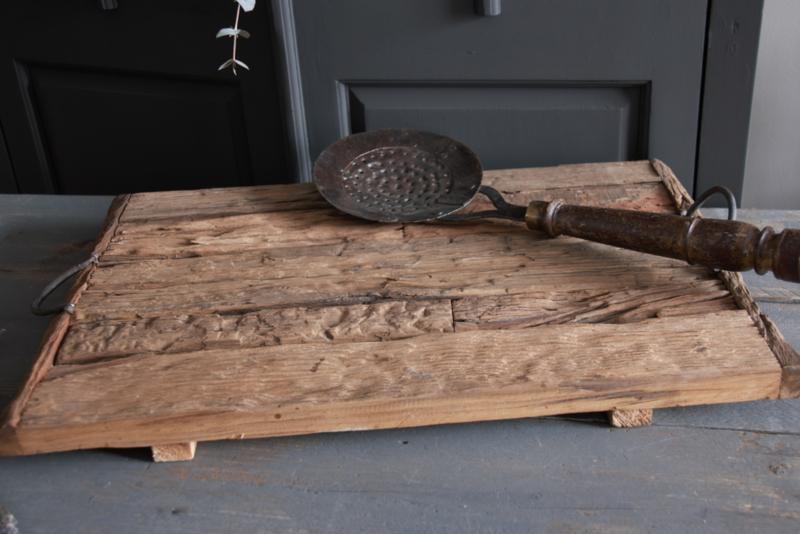 Tray van oude wagonplanken 60x40cm