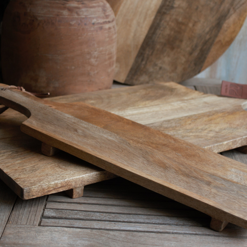 Snijplank Mangowood 54x16cm