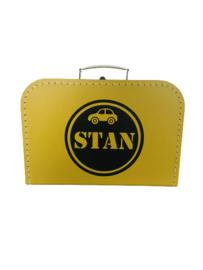 Koffertje met naamcirkel