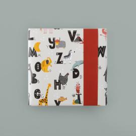 Cadeaupapier Alfabet | 70cm x 3m
