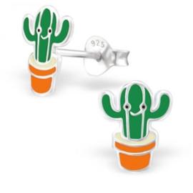 Vrolijke cactus oorbellen