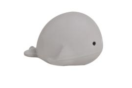 Tikiri bijt- en badspeeltje met rammelaar walvis