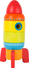 Small Foot stapel raket gekleurd