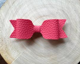 Donker roze haarstrik