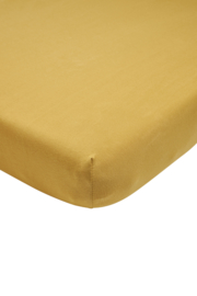 Meyco jersey hoeslaken - Honey Gold