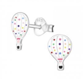 Gekleurde luchtballon oorbellen