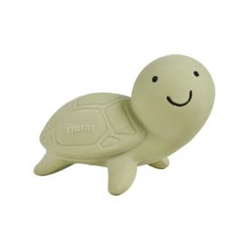 Tikiri bijt- en badspeeltje met rammelaar schildpad