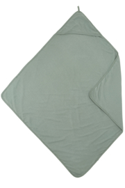 Meyco jersey badcape - Stone Green