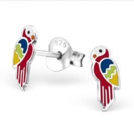 Papegaai oorbellen