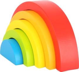 Regenboog blokken 5-delig