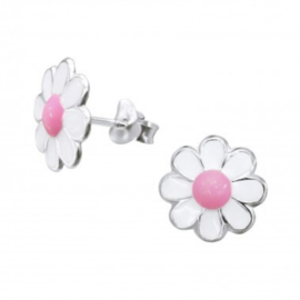 Wit roze bloem