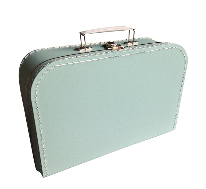 Koffertje met geboortegegevens