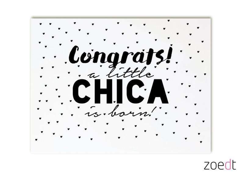 Congrats Little chica