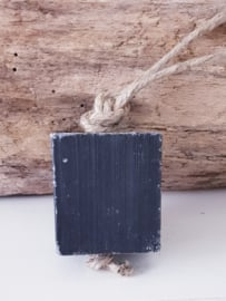 BLACK OLIVES SOAP ON A ROPE