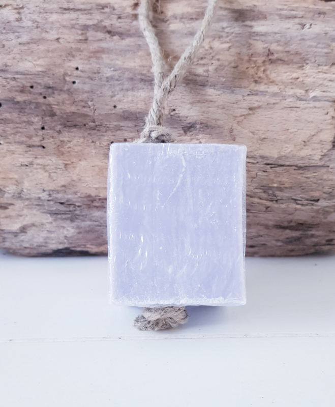 LAVENDER  SOAP ON A ROPE