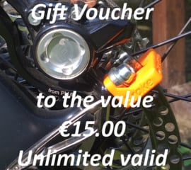 Our Gift Voucher €15.00 for your friend ;-) And a surprise for you!!