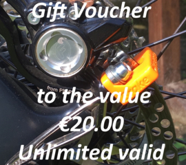 Our Gift Voucher €20.00 for your friend ;-) And a surprise for you!!