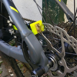 Brake Protec Duo Complete Mountainbike set - FLUOR