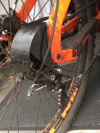 Cassette Protec for your bike with derailleur.