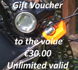 Our Gift Voucher €30.00 for your friend ;-) And a surprise for you!!