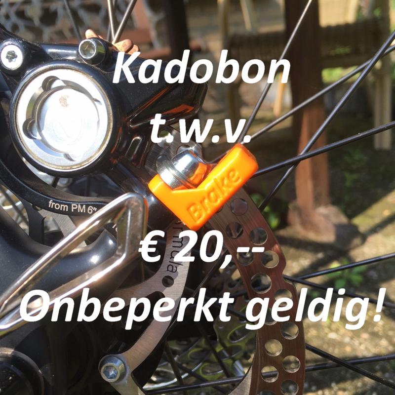Kadobon t.w.v. € 20,-- # En een verrassing voor jou!!