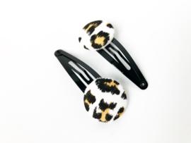 Speldjes pastel leopard