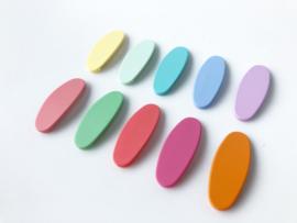Haarspeldje mat basic pastel