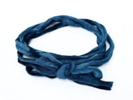 Knoop haarbandje tie dye
