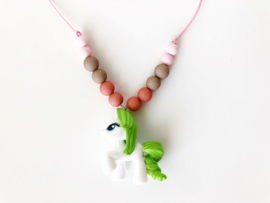 Kinderketting unicorn  groen