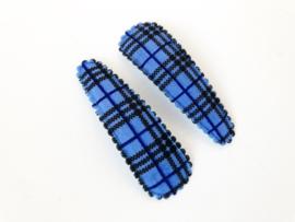 Haarspeldjes burberry blauw