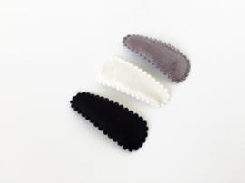 Haarspeldjes trio BLACK & WHITE