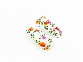 Haarspeldjes orange flowers