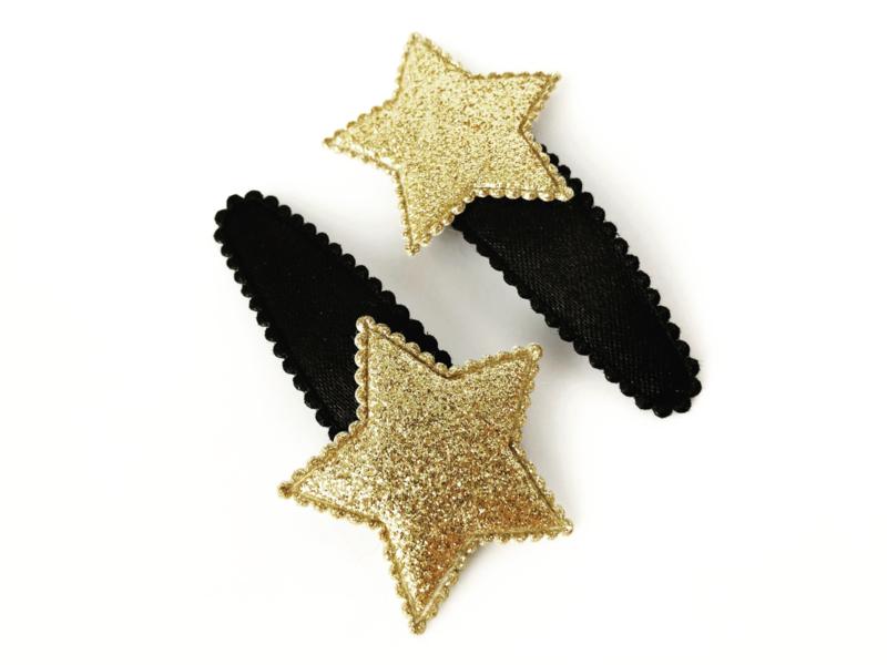 Haarspeldjes ster goud