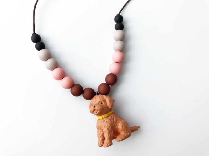 Kinderketting hondje E