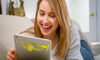 Trompetles Online Basis