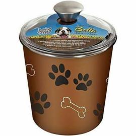 Loving Pets Bella Bowl Canister Espresso 1,9L