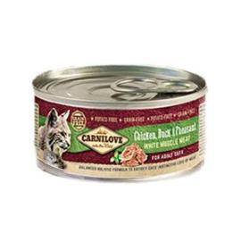 Carnilove blikvoeding Kip, Eend en Fazant kat