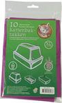 Bio-kattenbakzak lavendel pak à 10 stuks, XL.