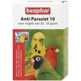Beaphar Anti-Parasiet 10 Vogel - Vogelapotheek - 2 pip 20 - 50 G