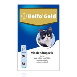 Bolfo gold kat 80 2 pipetten